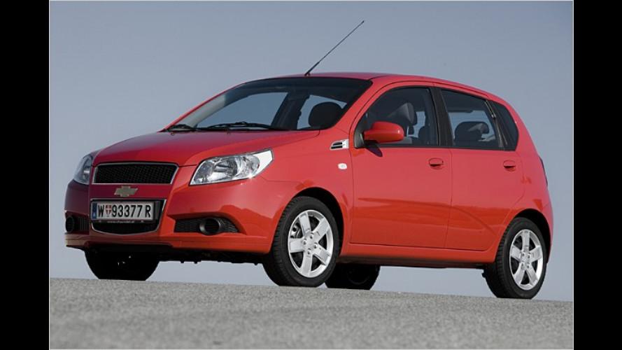 Aus Kalos wird Aveo: Neuer Schrägheck-Mini von Chevrolet