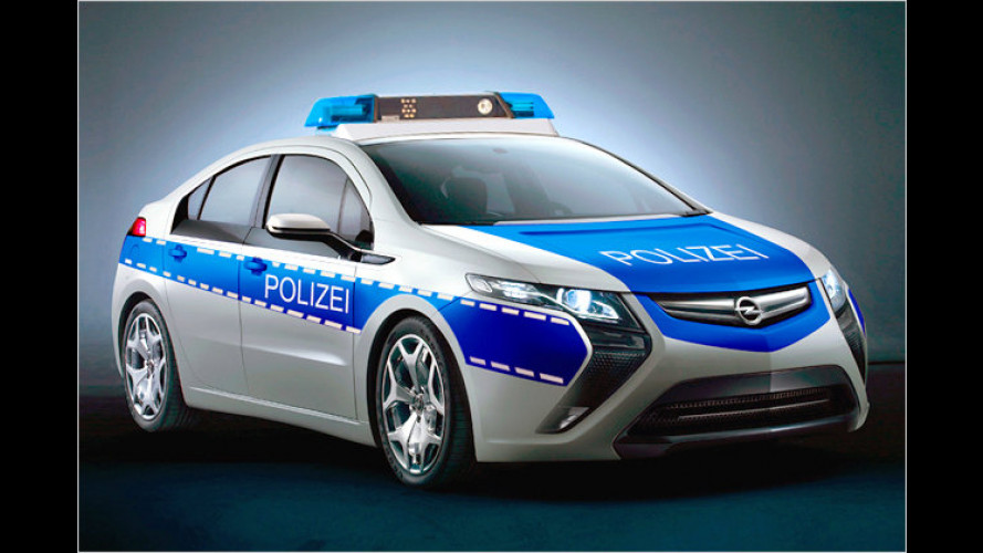 Opel Ampera: Saubere Jagd auf schmutzige Verbrecher
