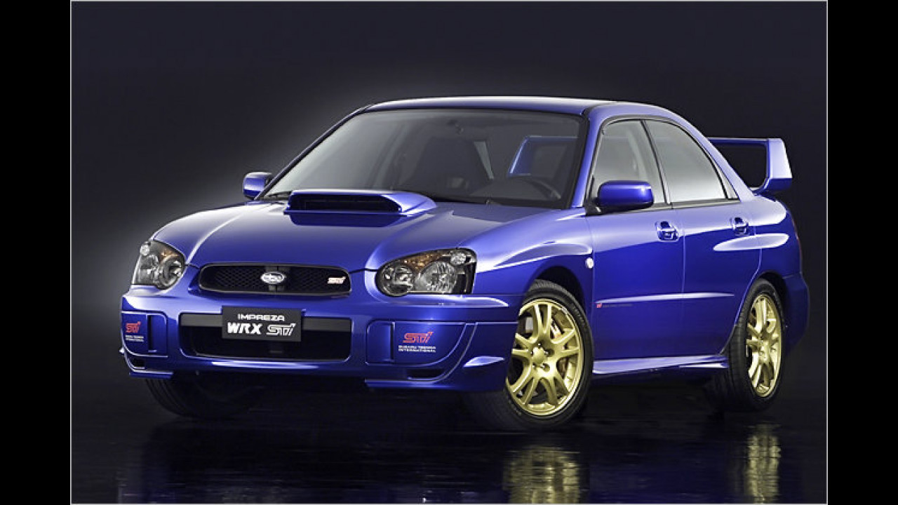 12. Subaru Impreza WRX STi (2003)