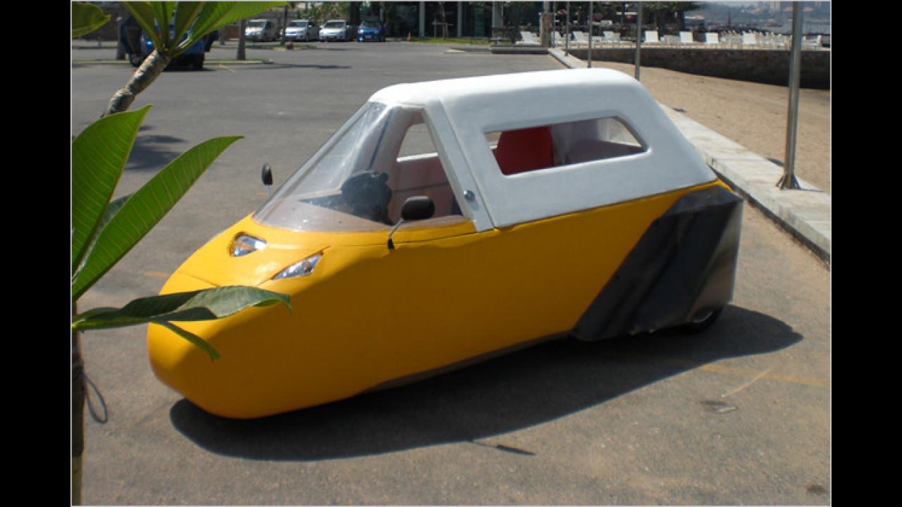Auto aus Schaum