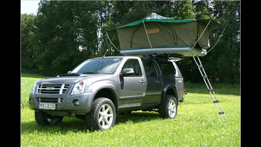 Abenteurer-Mobil: Isuzu D-Max mit Campingaufbau im Test