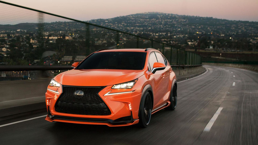 2015 Lexus NX 200t F SPORT gets an aggressive look from 360 Elite Motorworks