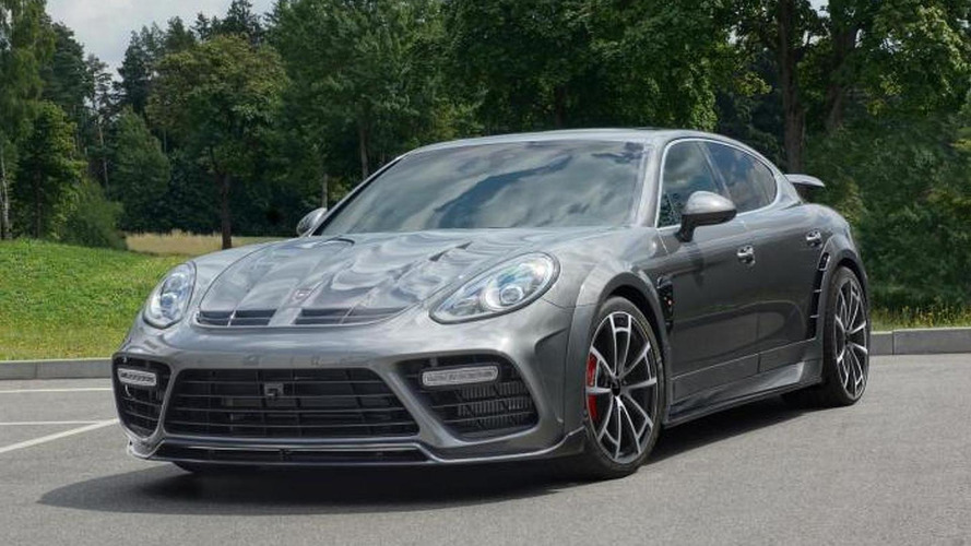 Mansory does its thing on the facelifted Porsche Panamera