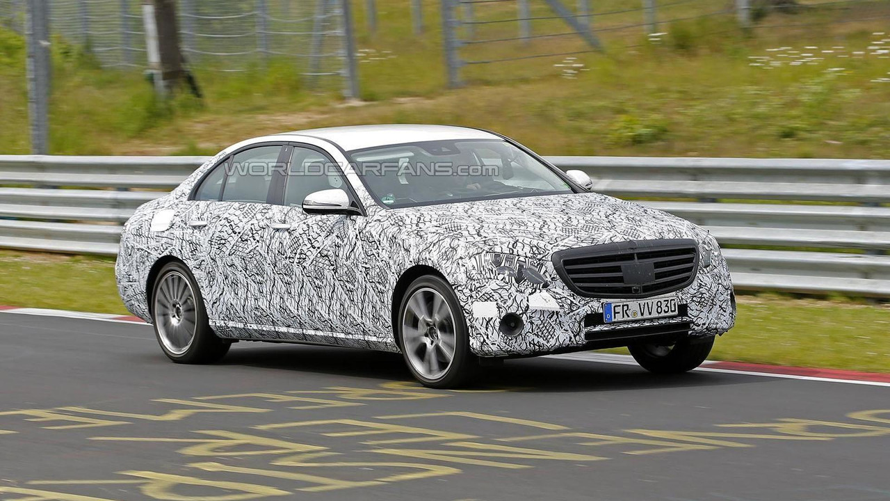 2016 / 2017 Mercedes E-Class spy photo