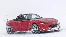The Mazda MX-5 Miata is truly a four-season sports car