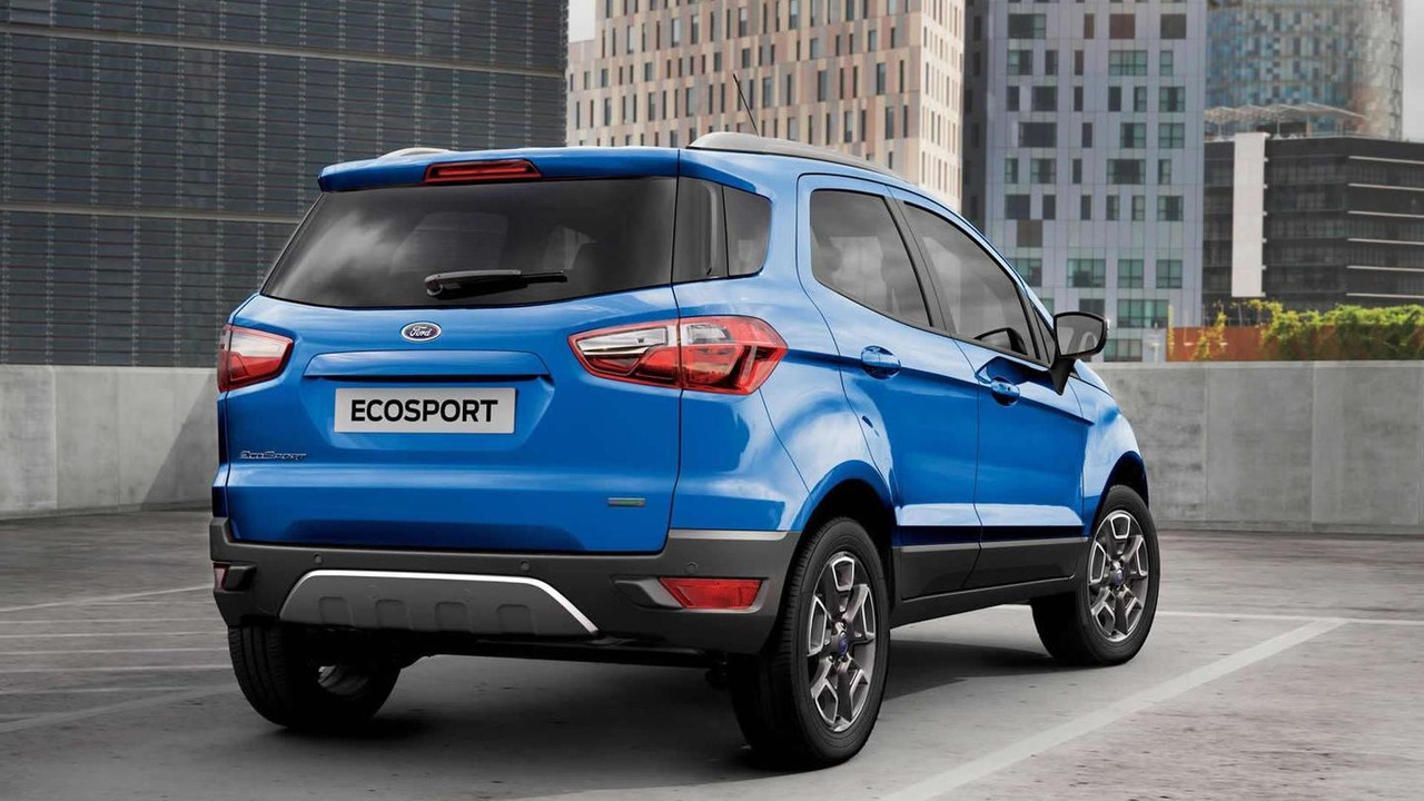 Ford EcoSport facelift (UK-spec)