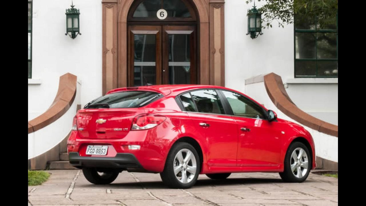 Chevrolet Cruze ganha MyLink com reconhecimento de voz na linha 2014