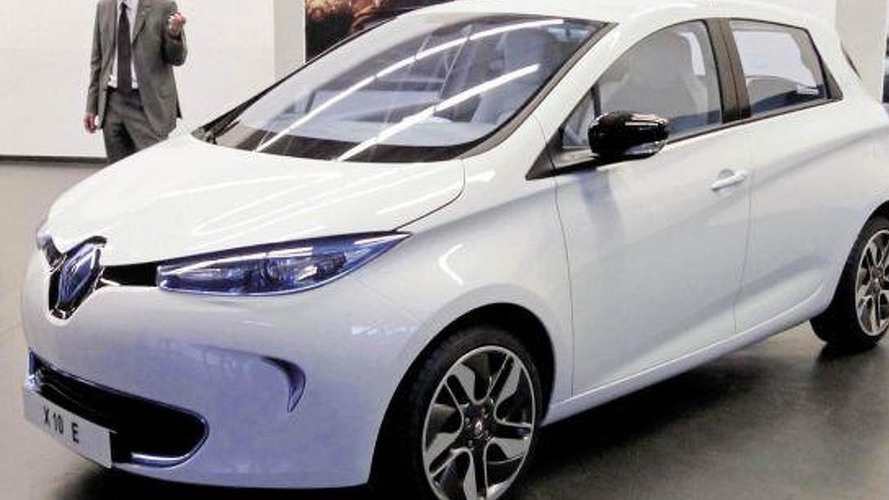 New 2013 Renault Zoe electric production version photos surface