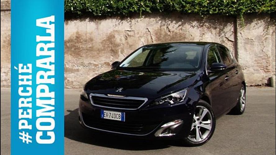 Nuova Peugeot 308, perché comprarla... e perché no [VIDEO]