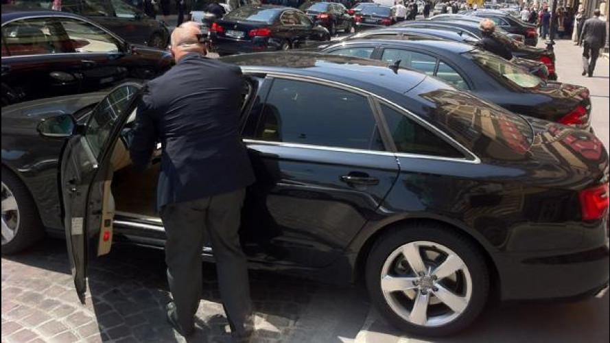 Auto blu: Roma ne taglia il numero