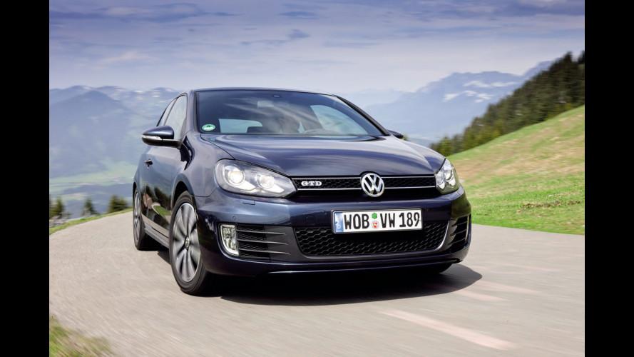 Arrivano i LED su Volkswagen Golf GTI e GTD