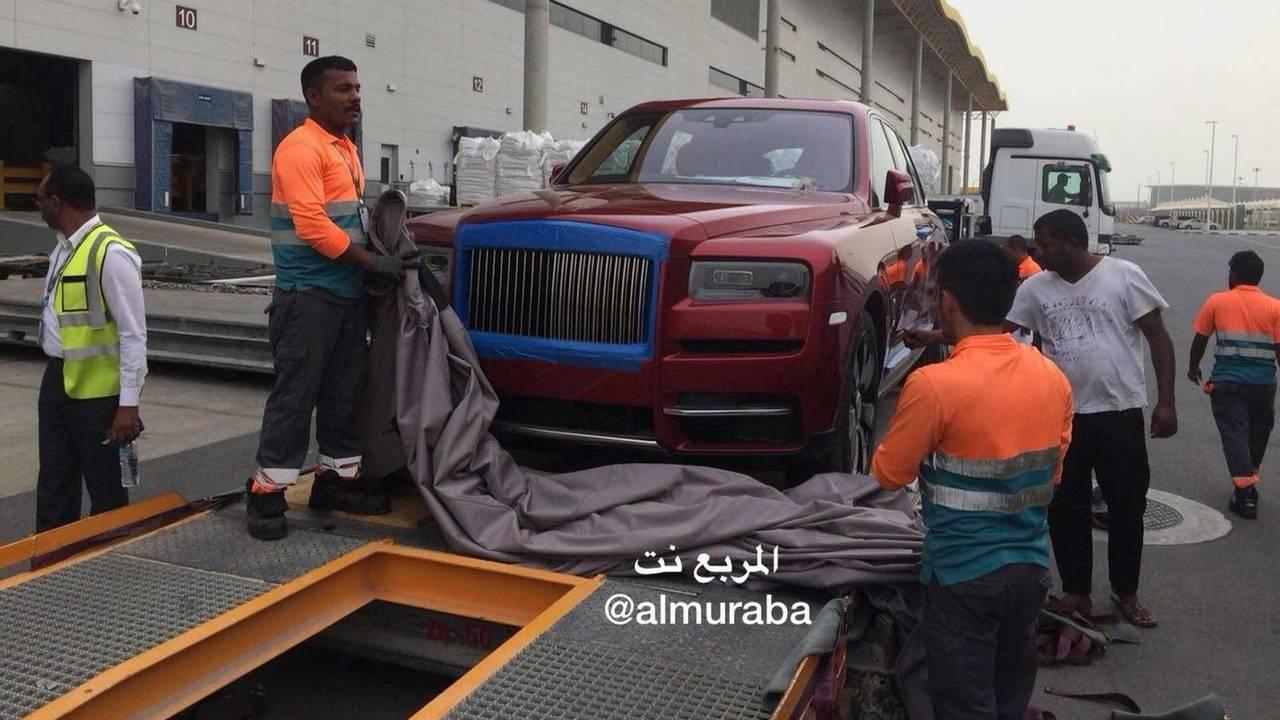 Rolls Royce Cullinan - Saud Arabia