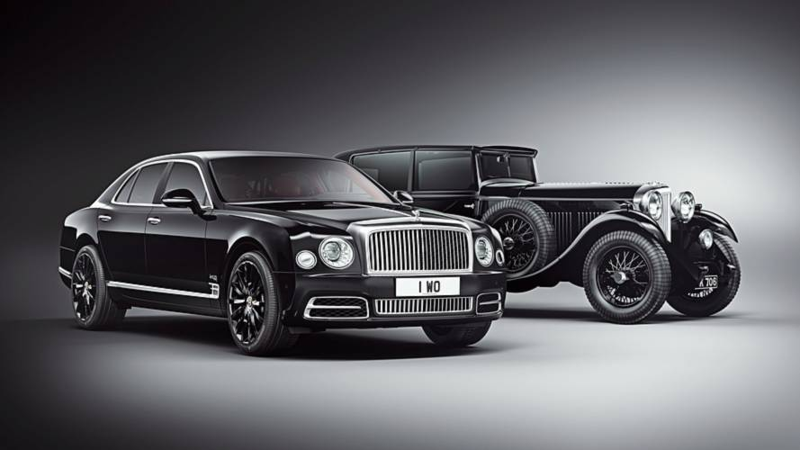Bentley Celebrates Centenary With 100 W.O Edition Mulsannes