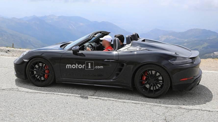 Porsche 718 Boxster Spyder 2019: cuenta atrás