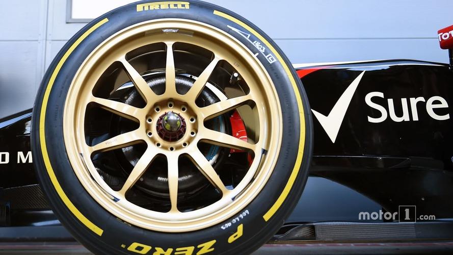 Formula 1 Pushing For Bigger Wheels In 2021