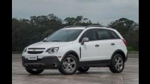 Chevrolet Captiva 2016 ganha visual