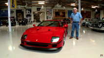 Ferrari F40 on Jay Leno's Garage