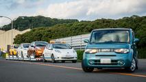 Nissan Leaf autonome logistique usine d'Oppama