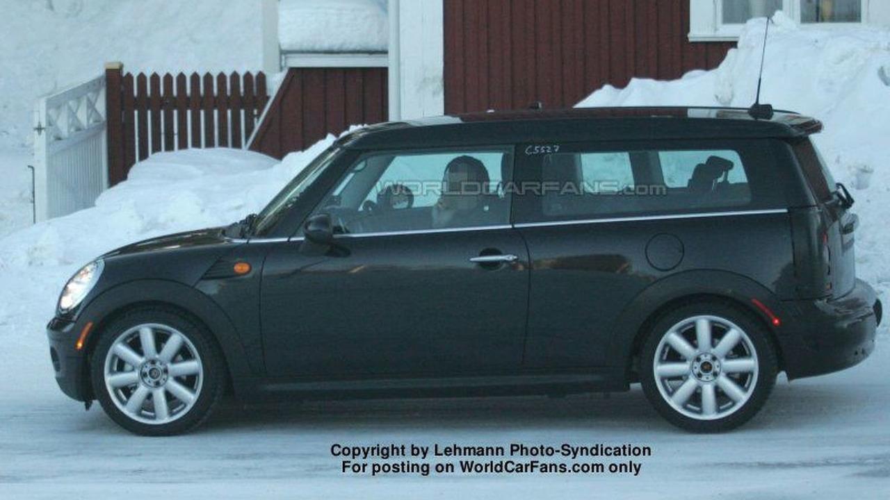 Mini Clubman Spy Photo