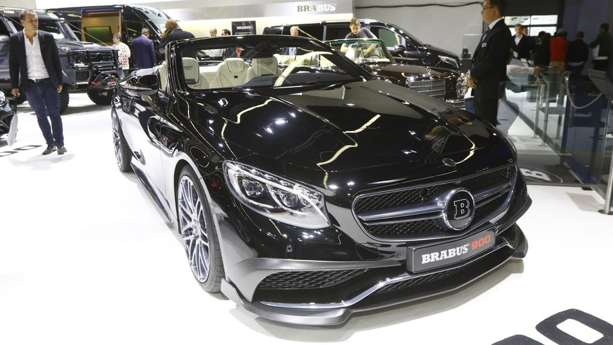 Brabus Mercedes S65 Cabrio Rocket Unleashes 888 HP In Frankfurt