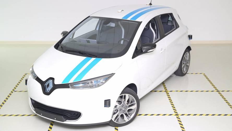 500 Renault Zoé dans les rues madrilènes