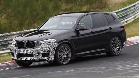 Photos espion - Le futur BMW X3 M en approche