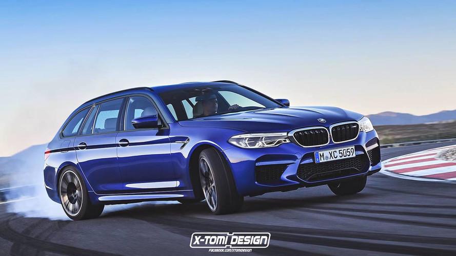 BMW M5 wagon gerçekleşmeyecek bir hayal