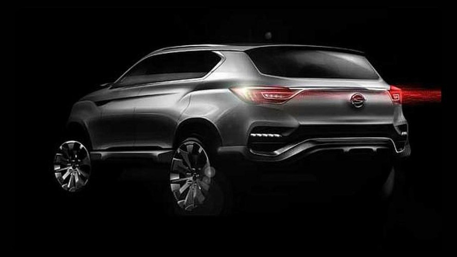 SsangYong LIV-1 Concept revealed ahead of Seoul Motor Show debut