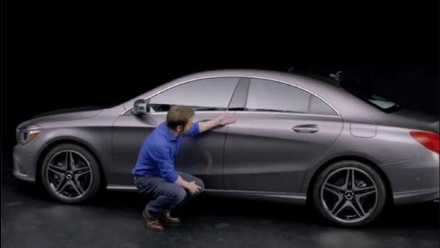 Mercedes CLA, lo stile spiegato dal suo designer [VIDEO]