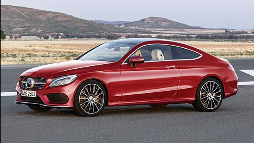 Mercedes Classe C Coupé, verso la famiglia allargata