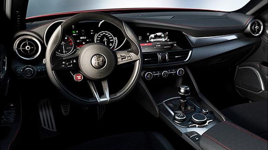 Alfa Romeo Giulia, tutto sugli interni