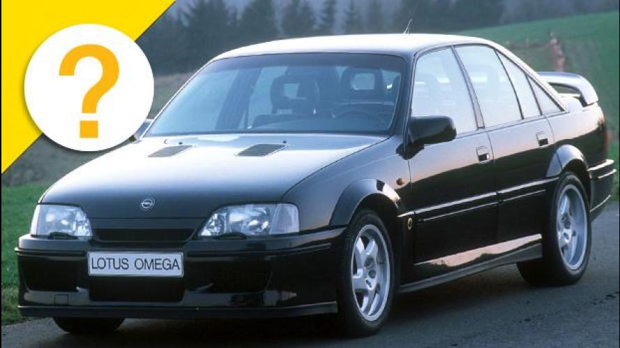 Opel Omega Lotus, come lei nessuna mai
