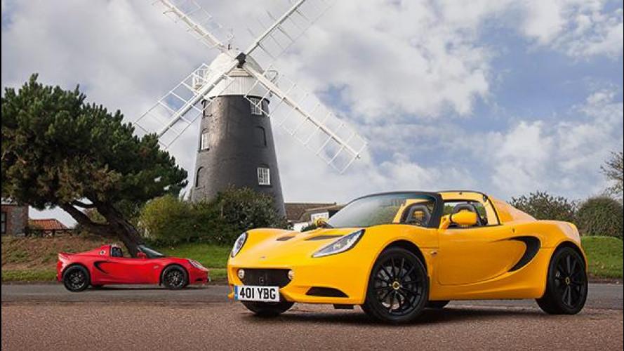 Lotus Elise Sport e Sport 220, ancora più leggere