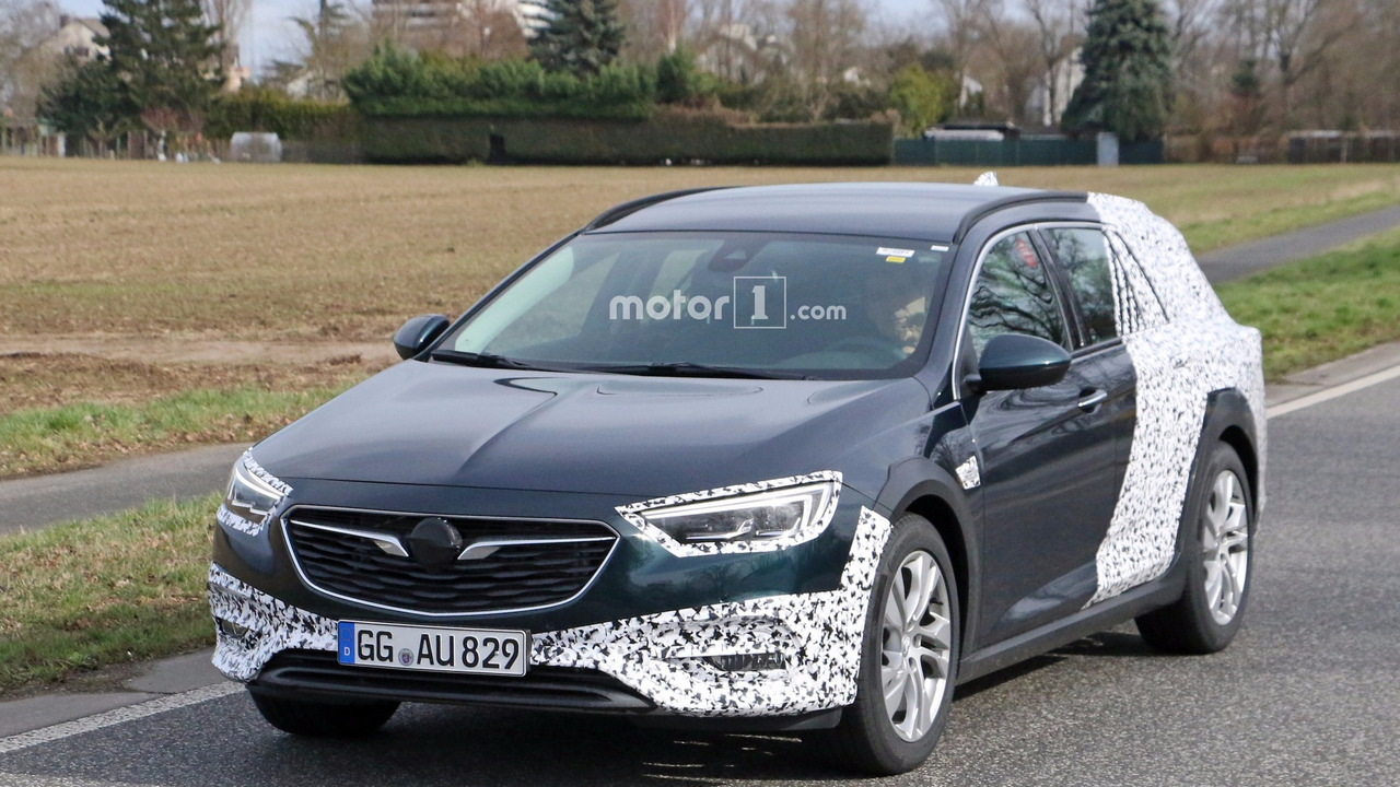 Opel Insignia Country Tourer 2017 fotos espía
