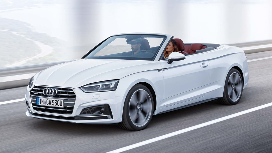 Audi A5 Cabriolet priced from £35,235 in the UK