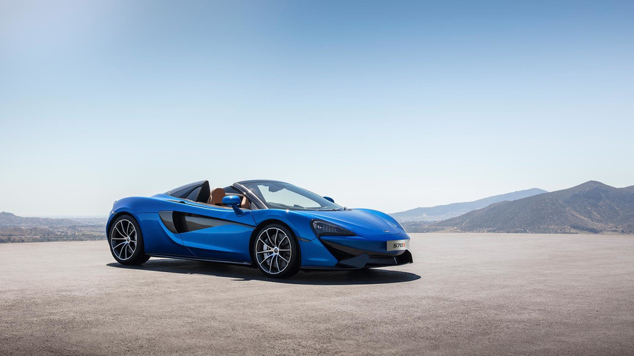 New McLaren 570S Spider: top down thrills, Woking style