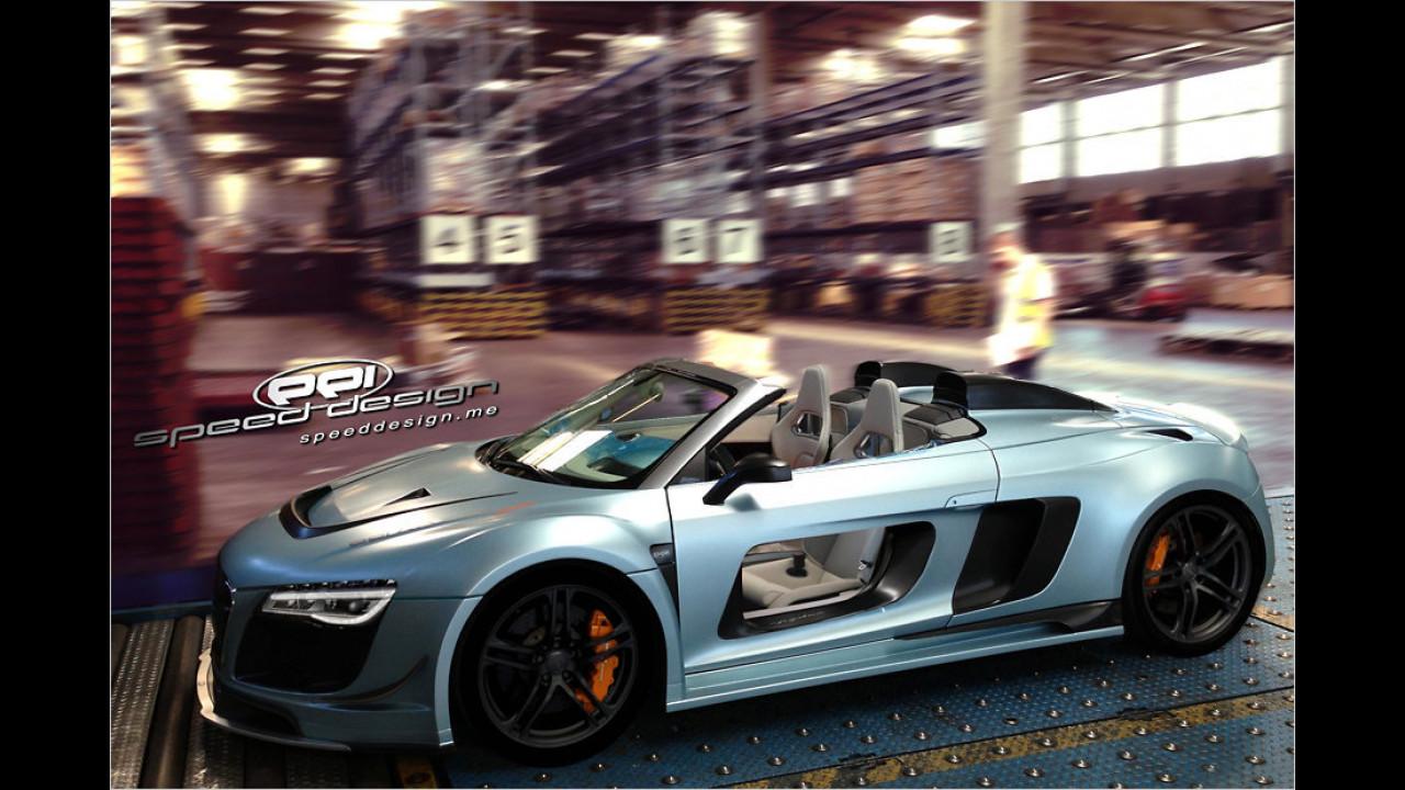 PPI Speed Design Audi R8 Spyder