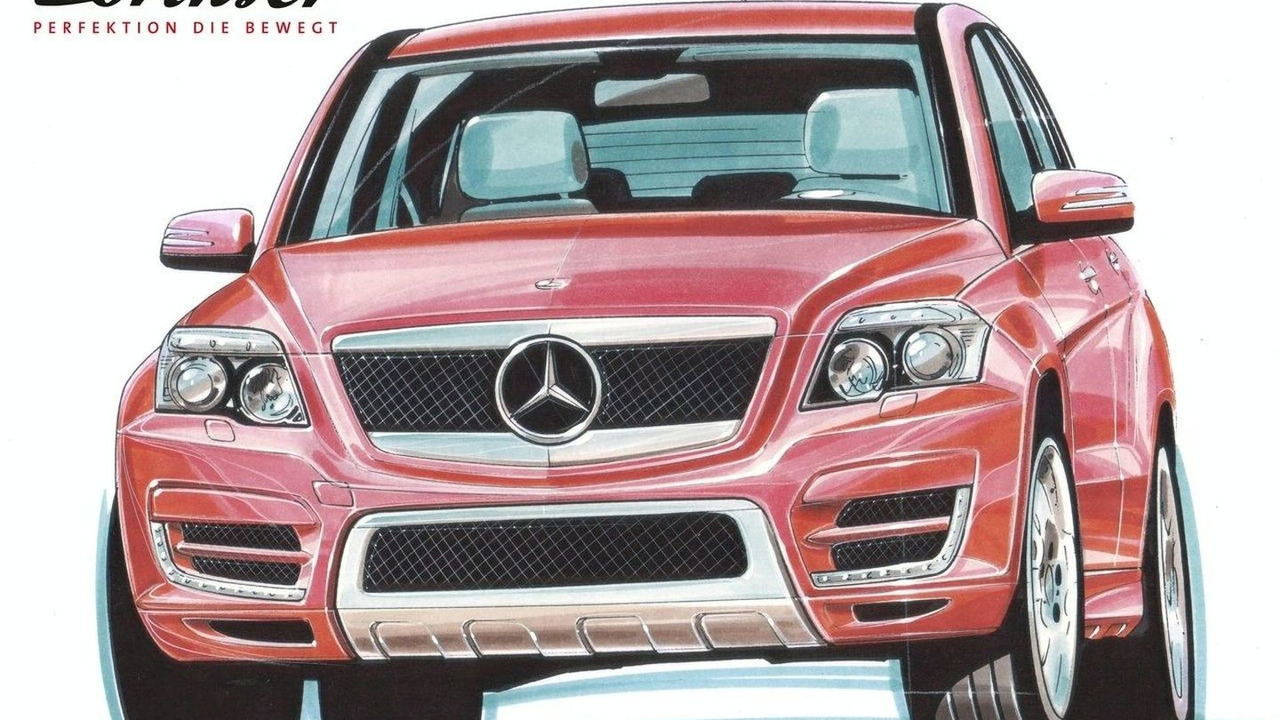 Lorinser GLK Design Study Sketches