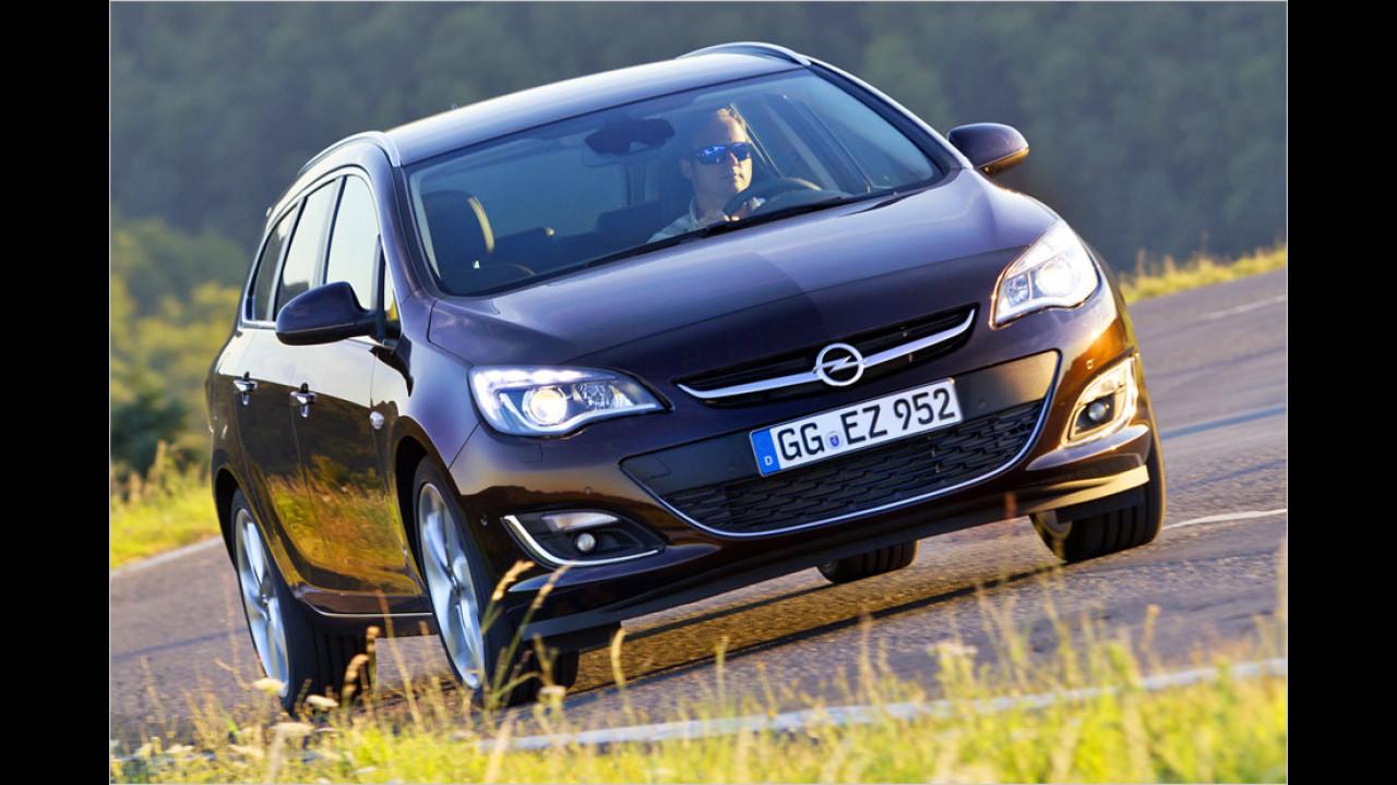 Platz 8: Opel Astra 1.6 CDTI 81 kW