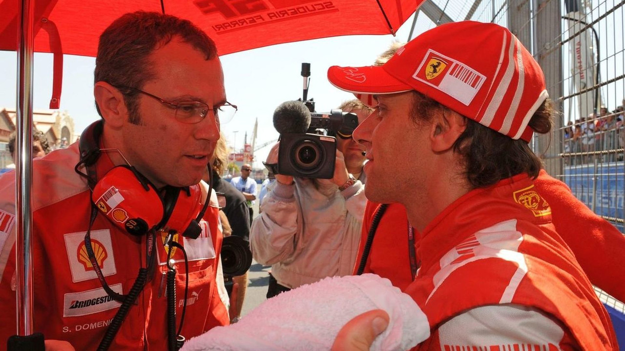 Stefano Domenicali and Luca Badoer, European grand prix, Valencia Spain, 23.08.2009