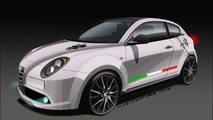 Alfa Romeo MiTo Veloce rendering
