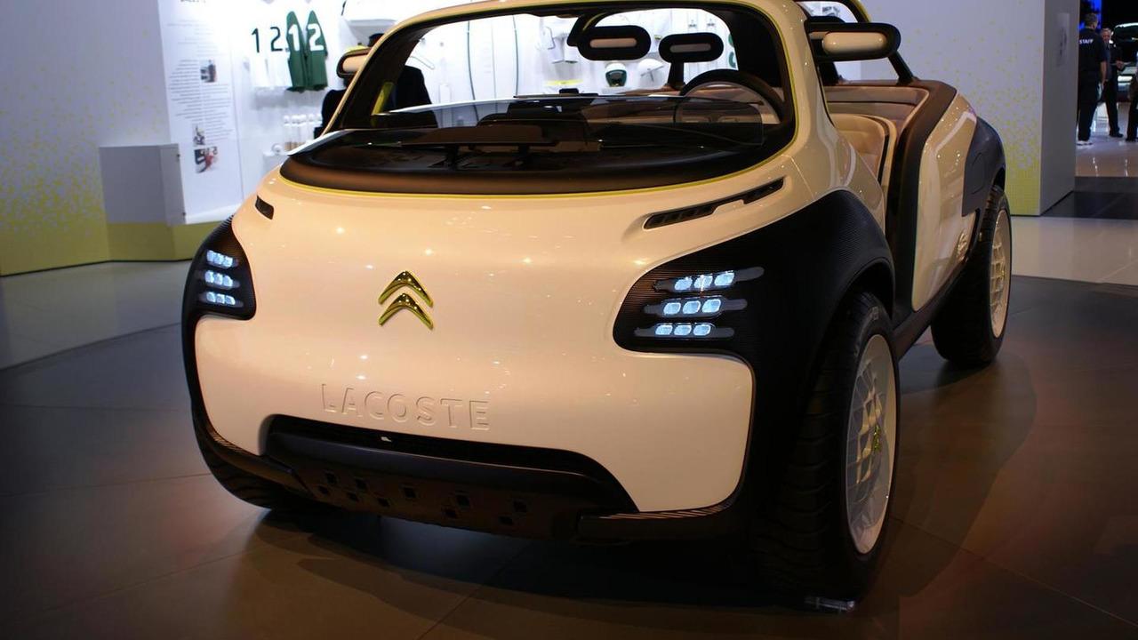 Citron lacoste concept unveiled new video citron lacoste concept vanachro Images