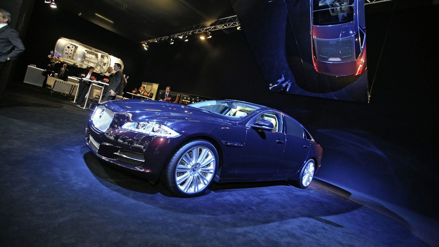 Jaguar XJ Quietly Joins the Frankfurt Circus