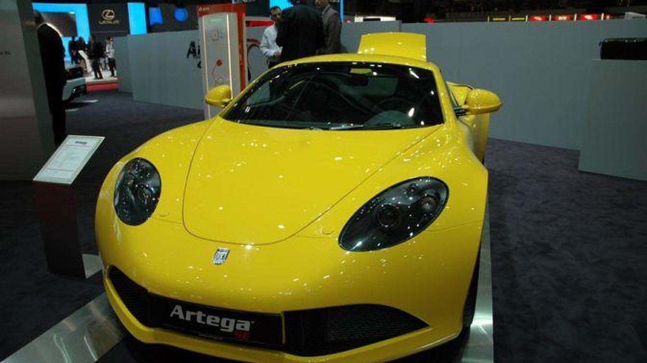Artega SE live in Geneva, 673 - 02.03.2011