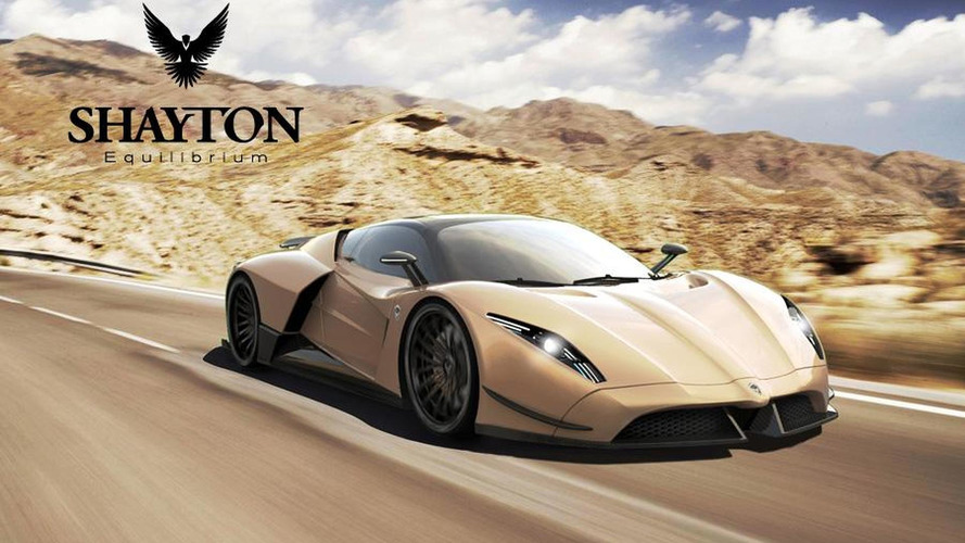 Shayton Equilibrium - new supercar proposal promises 1,084 hp