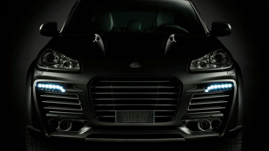 TechArt Shows Integrated LED Lights for Porsche Cayenne