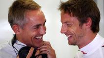 Martin Whitmarsh (GBR), McLaren, Chief Executive Officer, Jenson Button (GBR), McLaren Mercedes - Formula 1 World Championship, Rd 7, Turkish Grand Prix, 28.05.2010 Istanbul, Turkey