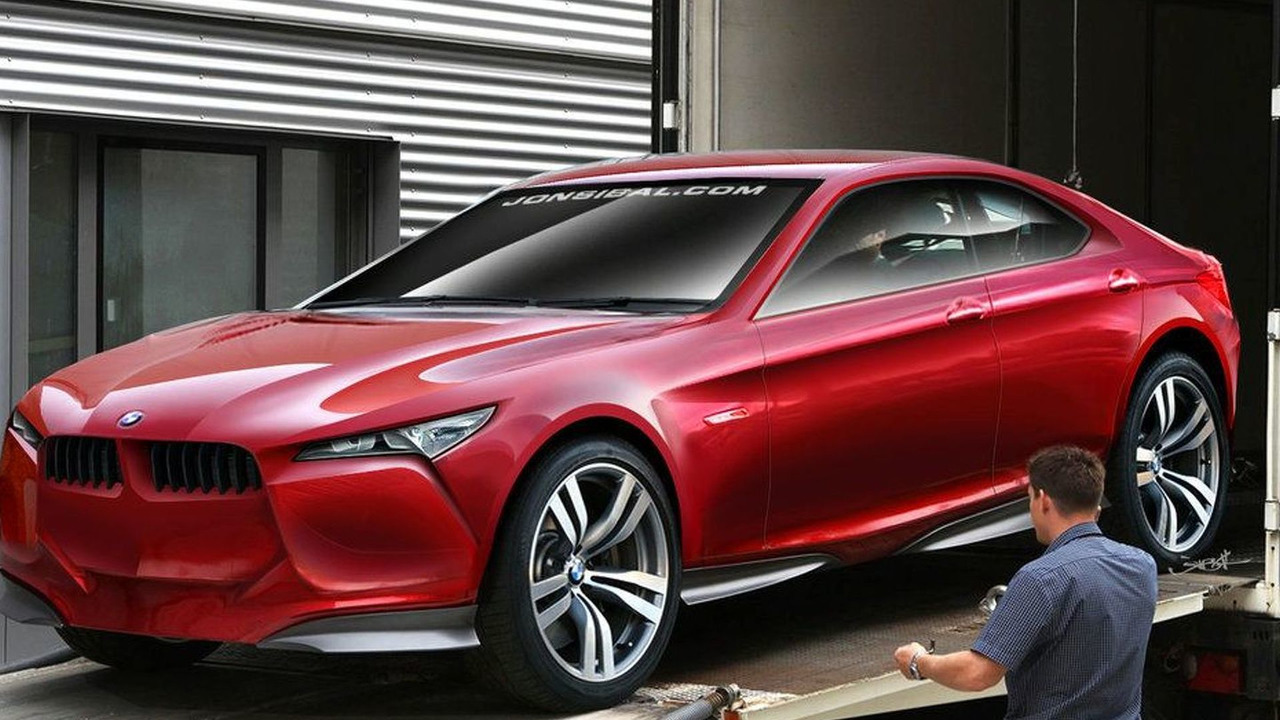 BMW Concept Vision Z Speculative Rendering