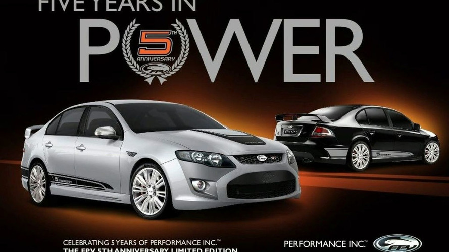 FPV 5th Anniversary GT Sedan Announced