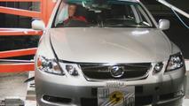 Lexus GS300 euro NCAP - side impact